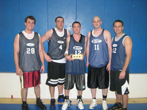 Team Bonner Chevrolet basketball players with boners