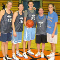 Fall 2009: Women's 5v5 League Champs: Cripple Triple Threats