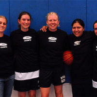 Spring 2006: Women's 4v4 League Champs: Black Mambas