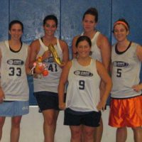 Spring 2007: Women's 4v4 League Champs: Hot Potato