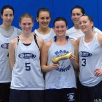 Winter 2008: Women's 4v4 League Champs: Ladies First