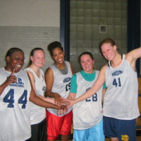 Winter 2009: Women's 5v5 League Champs: Lady Ballers