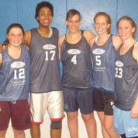 Winter 2010: Women's 4v4 League Champs: CAC Ringers