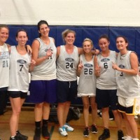 Spring 2012: Women's 5v5 League Champs: District 5