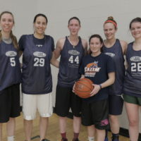Winter 2017: Women's 5v5 League Champs: Bill's Beauties